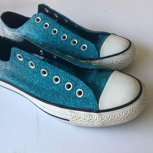 Converse | Turqoise Glittler All Stars